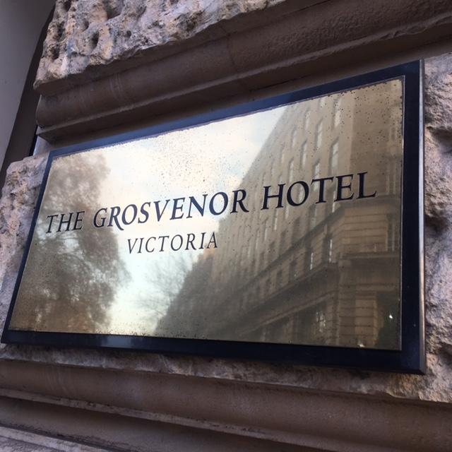 Grosvenor Hotel London Menu